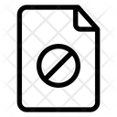 Block File Blocker Block Icon
