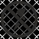 Block Cancel Over Icon