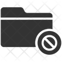 Block Closed Archive Icon