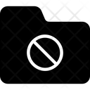 Block Ban Folder Icon