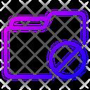 Block Folder Block File Icon