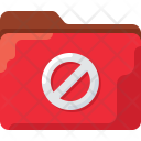 Block Red Denied Icon