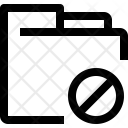 Folder Block Icon