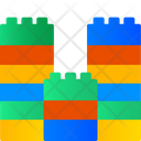 Block Game Toy Block Building Icon