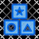 Block Game Block Toy Kids Icon