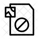 Block Image File Document Icon