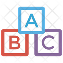 Block Learning Primary Education Kids Education Icon