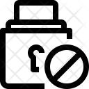 Block lock Icon