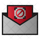 Mail Block Disable Icon
