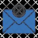 Block Message Security Icon