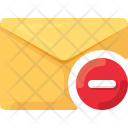 Block Minus Delete Icon