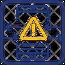 Block Malicious Traffic Traffic Network Icon