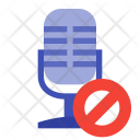 Block microphone Icon