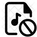 Block Music File Icon