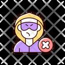 Block Or Mute Harasser N Icon