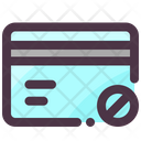 Block Payment Card Icon
