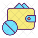 Block Payment Wallet Icon