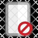 Mobile Error Security Notice Icon