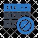 Mainframe Storage Block Icon