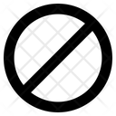 Block Sign Block Sign Icon