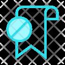 Tag Block Bookmark Icon