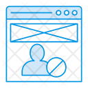 Webpage Internet Account Icon