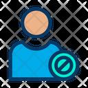 Block User Block Profile Male Profile Icon