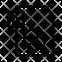 Block Video File Document Icon