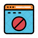 Block Internet Ban Icon