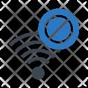 Block Wifi Icon