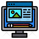 Writing Website Online Icon