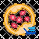 Blockage Blood Vessels Icon