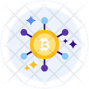 Node Bitcoin Process Bitcoin Node Icon