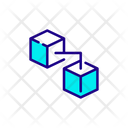 Blockchain Banking Joint Icon