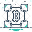 Blockchain Block Chain Icon