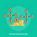 Bitcoin Decentralized Finance Icon