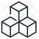 Block Blockchain Chain Icon