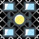Accesses Blockchain Net Icon