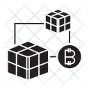 Blockchain Api Cube Icon