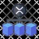 Blockchain Security Protection Icon