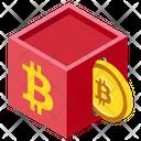 Blockchain Decentralized Network Public Blockchain Icon