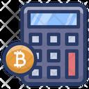 Blockchain Calculation Icon