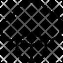 Blockchain Cloud Icon
