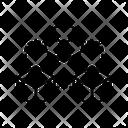 Blockchain Connection Blockchain Network Blockchain Structure Icon