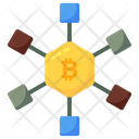Blockchain Currency Icon
