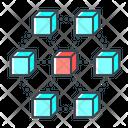Blockchain Data Icon