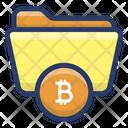 Blockchain Data Protection Icon