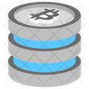 Blockchain Database Icon