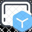Blockchain Designing Icon