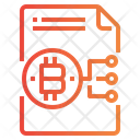 Blockchain File Icon